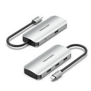 VENTION 威迅 五合一 扩展坞(USB3.0*4+Micro供电)