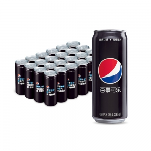 88VIP:PEPSI 百事 无糖碳酸饮料 330mL*24罐 *2件