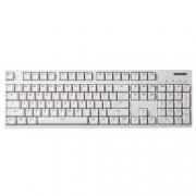GANSS 迦斯 GS104C 104键 游戏键盘 104C 白色 无光版 青轴