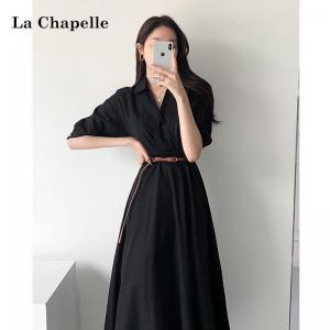 La Chapelle 拉夏贝尔 912612500 女士长款连衣裙