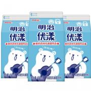 PLUS会员!meiji 明治 优漾 杀菌型乳酸菌饮品 450ml*3瓶¥12.28 4.1折 比上一次爆料降低 ¥1.91