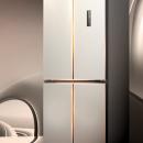 JIWU 苏宁极物 JQE4428XP 单循环 风冷十字对开门冰箱 440L 金色¥2299.00 5.7折