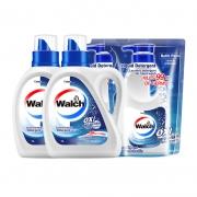88VIP:Walch 威露士 除菌洗衣液套装 (1L*2瓶+500ml*2袋) *3件75.71元(合25.24元/件)