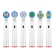 AOOSSI 澳松  适用Oral-B/欧乐B电动牙刷替换刷头 标准型 8支25元包邮