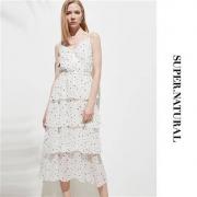 super.natural  雪纺吊带连衣裙  SNURW031070265109元包邮