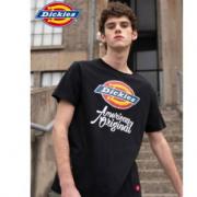 Dickes 男士大logo短袖T恤 多色¥109.00 4.2折 比上一次爆料降低 ¥8