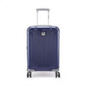 Diplomat 外交官 镜面扩充层箱子行李箱男女旅行箱万向轮拉杆箱密码箱TC-6013 24英寸 深蓝色