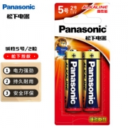 Panasonic 松下 五号AA碱性干电池 2节 1.5V