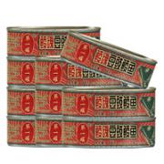 Eagle-Coin 鹰金钱 鲮魂豆豉鲮鱼罐头184g/罐*4