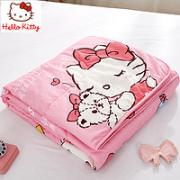 Hello Kitty 凯蒂猫 儿童空调被 纤维夏被 150*200cm¥89.00 1.5折