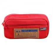 M&G 晨光 APB93598 多功能笔袋 红色11.3元
