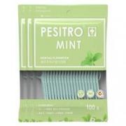 pesitro 佰仕洁 薄荷味家庭装牙线 100支*3袋11.9元包邮(需用券)