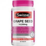Swisse 葡萄籽片 高浓度原花青素 180片/瓶 美白淡斑