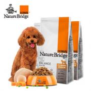 PLUS会员:Nature Bridge 比瑞吉 自然均衡系列 成犬狗粮 2.2kg*3袋