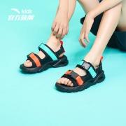 88VIP:安踏 儿童凉鞋 魔术贴沙滩鞋  A33026602