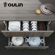 OULIN 欧琳 拉篮厨房橱柜 600柜