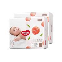 HUGGIES 好奇 铂金装 婴儿纸尿裤 L76片*2箱