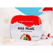 kiss pearl 无糖口香接吻薄荷糖 14g*7件19.9元包邮(合2.84元/件)