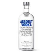 ABSOLUT VODKA 绝对伏特加 洋酒 原味 40%vol 1L