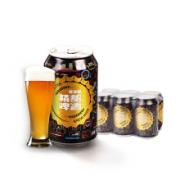 PLUS会员:MANGOLDER 麦古德 精酿啤酒小麦啤酒 330ml*6听*2件34.8元包邮(单价17.9元/件)