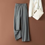 La Chapelle 拉夏贝尔 L69T88890190 女士高腰阔腿裤79元