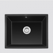OULIN 欧琳 GS102 黑色花岗岩水槽单槽  560X445X210mm