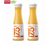 PLUS会员:农夫山泉 17.5°橙汁/苹果汁套装 6瓶橙汁 2瓶苹果汁