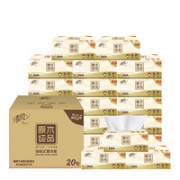 Breeze 清风 原木纯品系列 抽纸 3层120抽20包(188mm*118mm)¥19.80 2.0折 比上一次爆料降低 ¥7.1