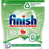 finish 亮碟 洗碗机专用洗涤块 80粒 到手78.21元