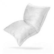 FUANNA 富安娜 家纺 枕头芯颈椎枕蚕丝枕芯 成人枕头高档 臻美丝棉枕 70*45cm 白色