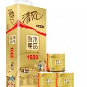 88VIP!Breeze 清风 原木金装 卷纸 4层160g10卷¥14.58 6.4折