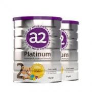 a2 艾尔 Platinum白金 婴儿奶粉 2段 900g 2罐装