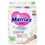 Merries 妙而舒 婴儿纸尿裤 M68片¥48.21 4.1折 比上一次爆料降低 ¥9.25