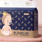 babycare 皇室弱酸系列 婴儿纸尿裤 NB34片
