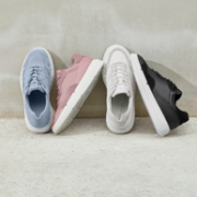 ECCO 爱步 Soft X柔酷系列 女士真皮拼接运动鞋473.7元包邮(天猫1399元)