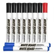M&G 晨光 AWMY2232 易擦白板笔 10支混装(7黑+2蓝+1红 )