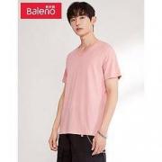 PLUS会员:Baleno 班尼路 88802702 男士V领T恤*3件49元包邮(单价16.33元/件)