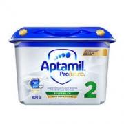 Aptamil 爱他美 白金德国版较大婴儿双重HMO配方奶粉2段 6个月以上 800g/罐
