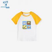 JEANSWEST 真维斯 男童短袖T恤¥16.57 3.3折