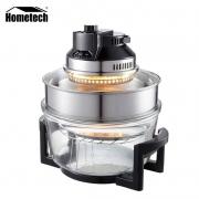plus会员:Hometech 宏泰科  多功能空气炸锅 高配17升 加高圈+炉头架+蒸盘+煎盘