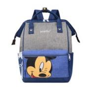 Disney 迪士尼 工装学生街拍书包 双肩包