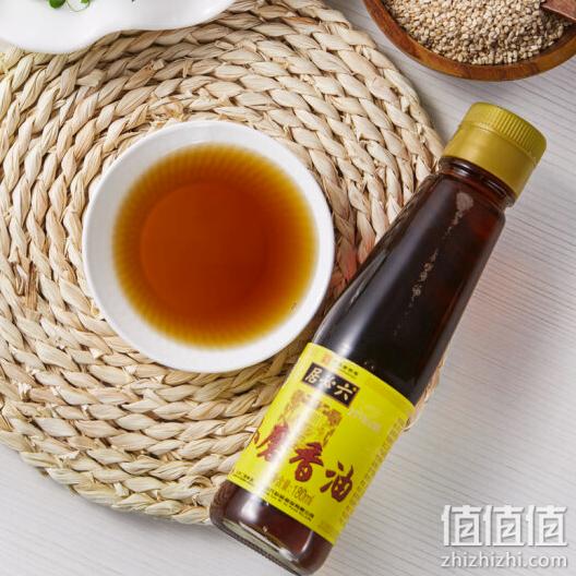 六必居 小磨芝麻香油 180ml 传统工艺 水代法 凉拌火锅调味 中华老字号