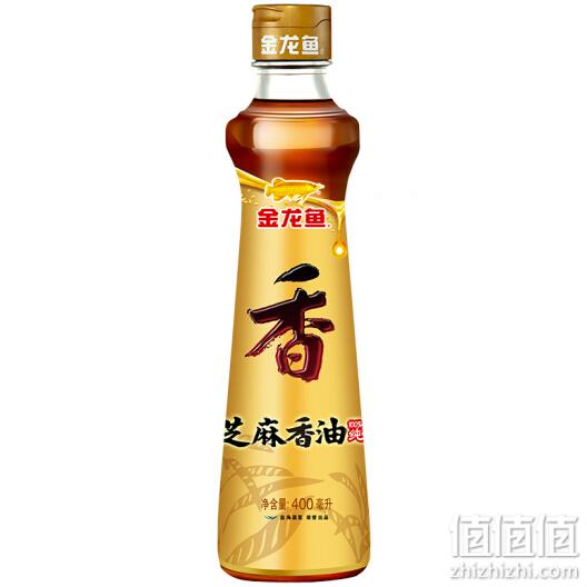 金龙鱼 食用油 凉拌调味烹饪火锅 纯芝麻 香油 400ML