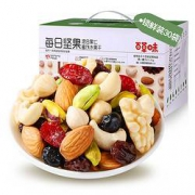 Be&Cheery 百草味 每日坚果 750g(赠百草味肉松乳酪吐司 180g)59元包邮(双重优惠)