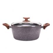 PLUS会员:honcook 红厨 星空麦饭石汤锅 24cm99元包邮(双重优惠)