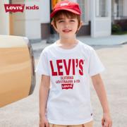 LUS会员!Levi's 李维斯 儿童字母logo短袖