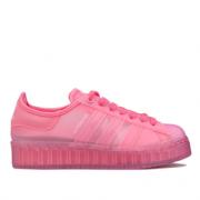 某猫¥999! Adidas Superstar Jelly 女士果冻鞋£23.13(折¥213.95) 2.1折