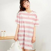 COSMO LADY 都市丽人 2H1601-0041 女士短袖睡裙17元(需用券)