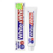 LION 狮王 WHITE&WHITE 亮白牙膏 150克 明星亮白牙膏12元