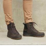 ECCO 爱步 Rugged Track工装踪迹 男士高帮Hydromax®防泼水登山鞋 838104¥564.89